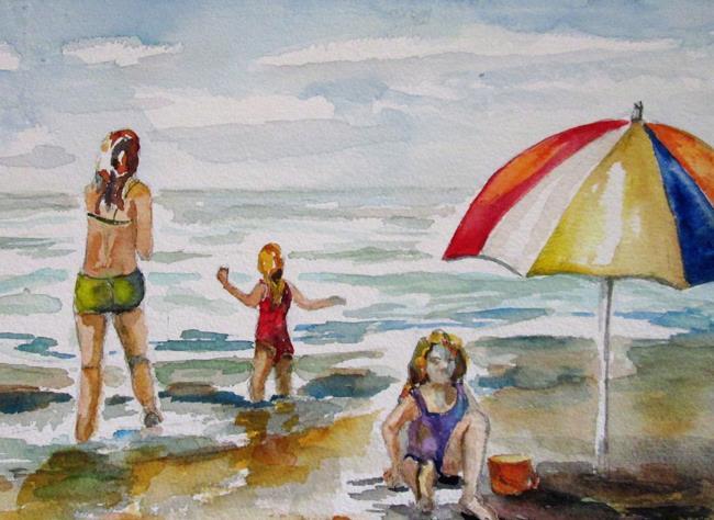 Art: Galveston Island by Artist Delilah Smith