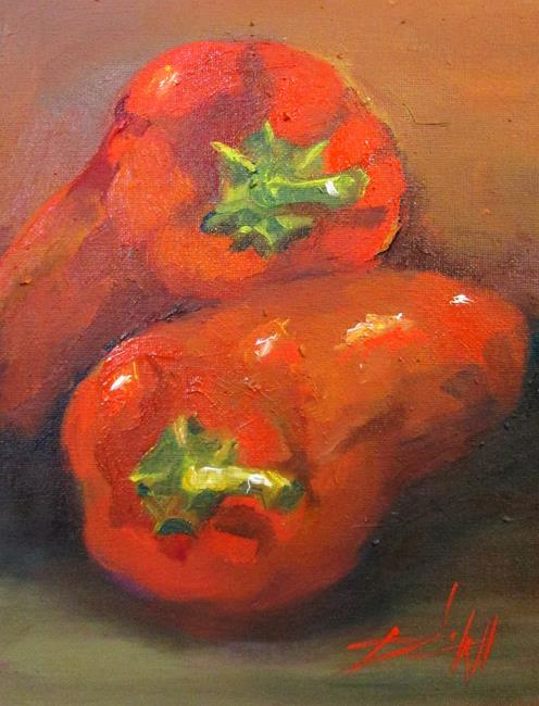 Art: Spicy Stuff by Artist Delilah Smith