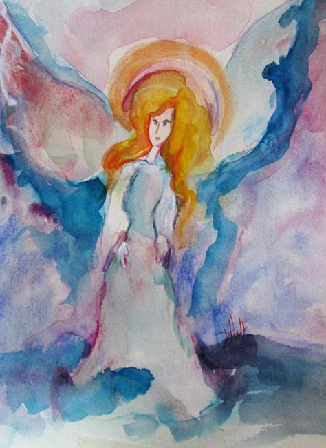 Art: Angel No.6 by Artist Delilah Smith