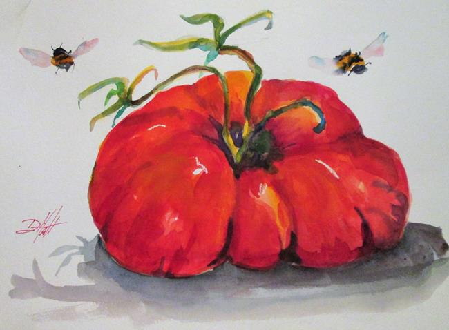 Art: Fat Tomato by Artist Delilah Smith