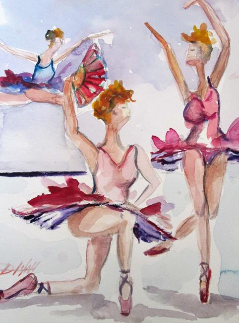 Art: Dancers by Artist Delilah Smith