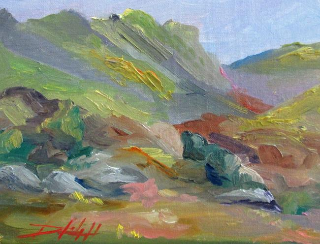 Art: Mountains by Artist Delilah Smith