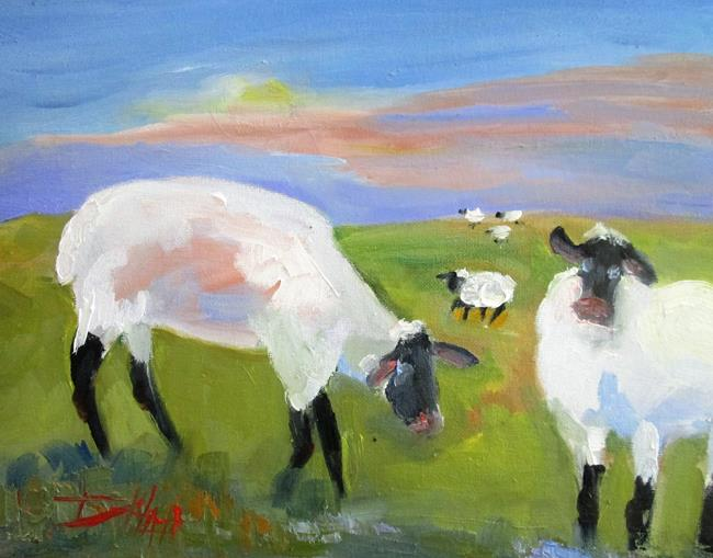 Art: The Flock by Artist Delilah Smith