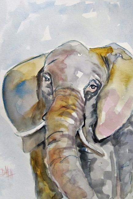 Art: Elephant by Artist Delilah Smith