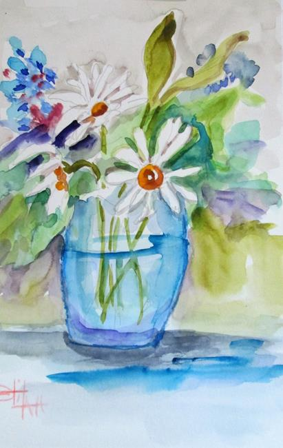 Art: White Daisies by Artist Delilah Smith