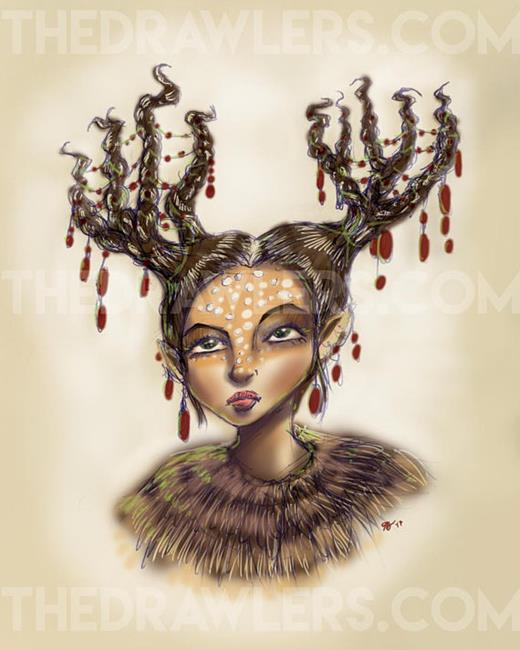 Art: Faun by Artist TheDrawlers
