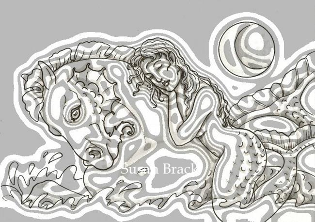 Art: SAILOR'S DREAM Wave filter by Artist Susan Brack