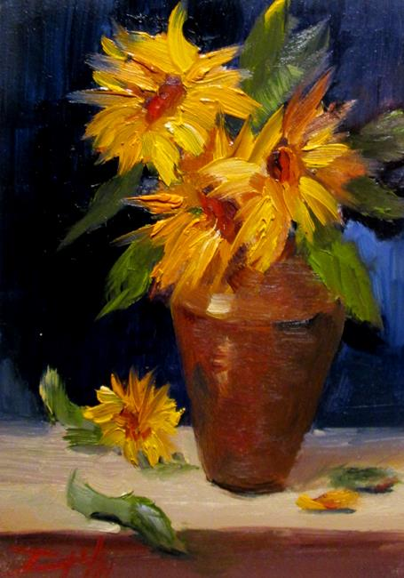 Art: Sunflower No.4 by Artist Delilah Smith