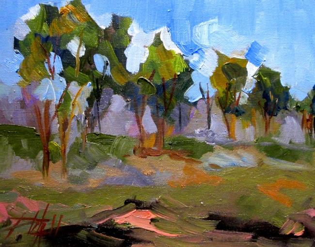 Art: Landscape No. 11 by Artist Delilah Smith