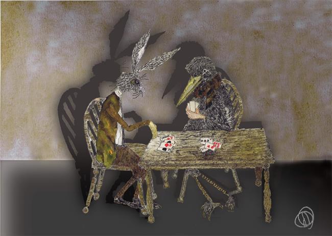 Art: THE CARD GAME r109 by Artist Dawn Barker