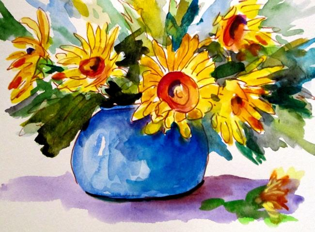Art: Sunflowers No.4 by Artist Delilah Smith