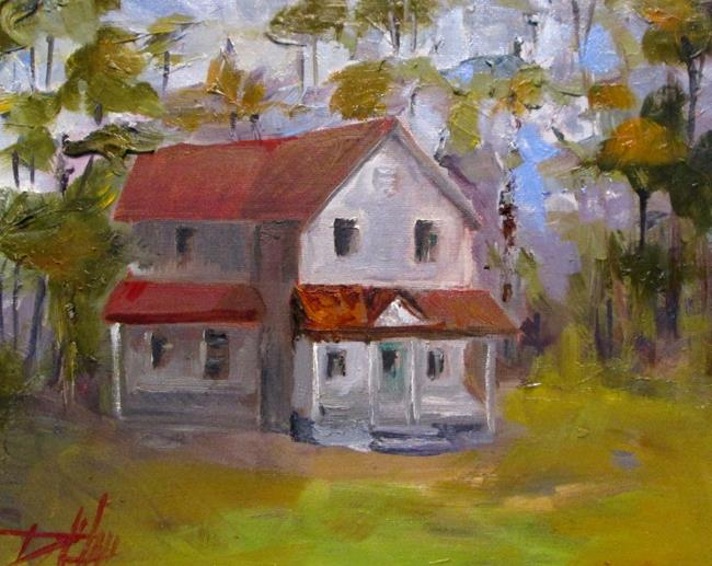 Art: Farm House No. 2 by Artist Delilah Smith