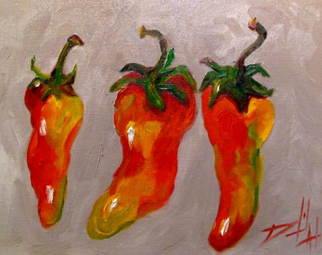 Art: Jalapeno Peppers by Artist Delilah Smith
