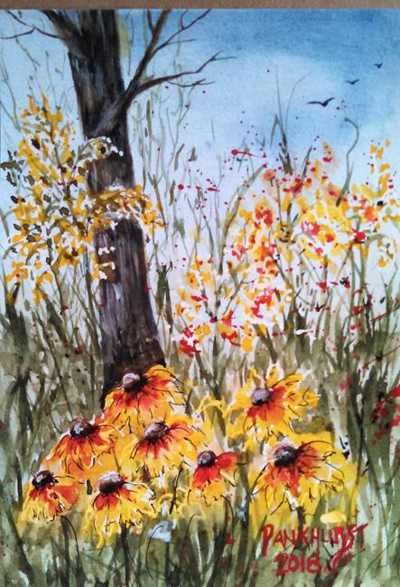 Art: Black Eyed Susans by Artist Bonnie Pankhurst
