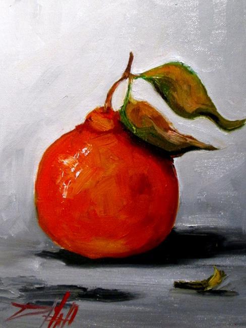 Art: Tangerine No.3 by Artist Delilah Smith
