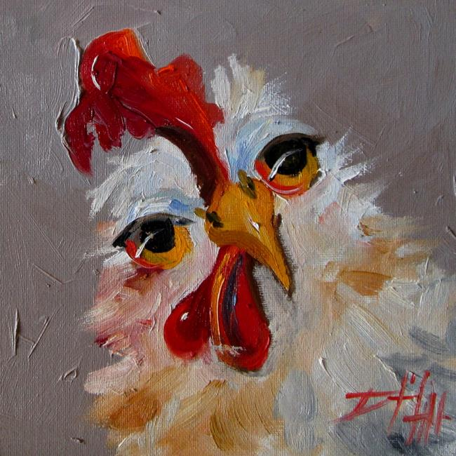 Art: Cluck Cluck No. 2 by Artist Delilah Smith