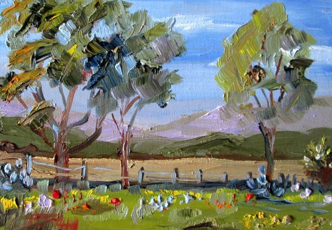 Art: Field of Flowers by Artist Delilah Smith
