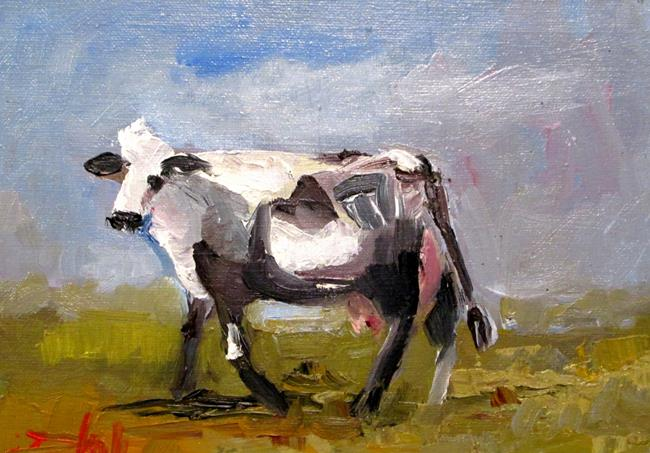 Art: Milk Cow by Artist Delilah Smith