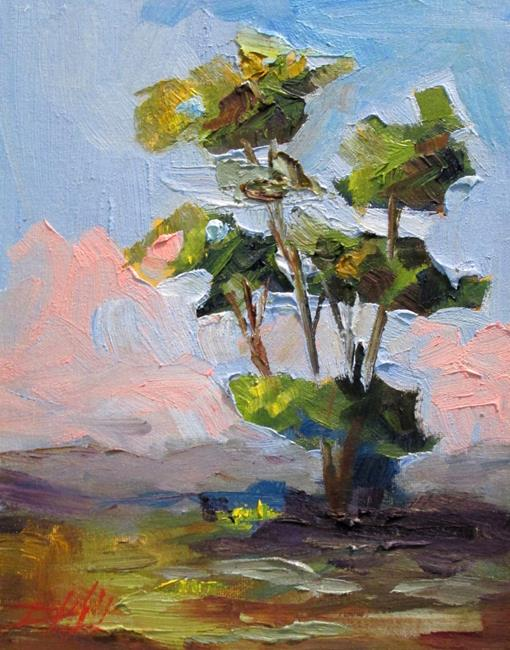 Art: The Essence of a Tree by Artist Delilah Smith