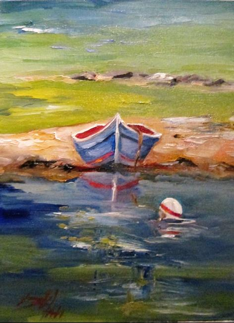 Art: Sandbar-sold by Artist Delilah Smith