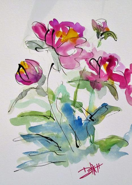 Art: Peonies No. 2 by Artist Delilah Smith