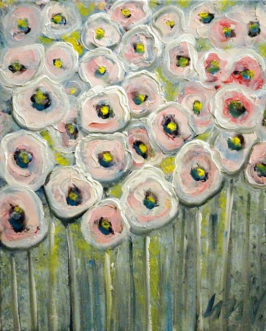 Art: Poppy Floral by Artist LUIZA VIZOLI