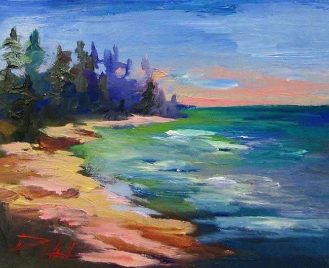 Art: Lake Shore by Artist Delilah Smith