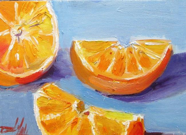 Art: Orange No. 2 by Artist Delilah Smith