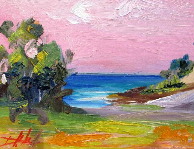 Art: imprressionist Landscape by Artist Delilah Smith
