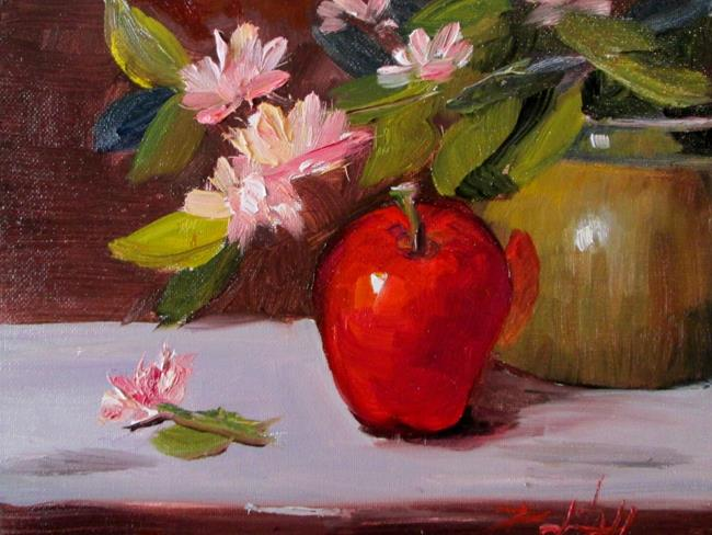 Art: Apple No. 9 by Artist Delilah Smith