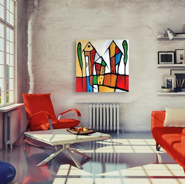 Art: Original Abstract Art Home Grown by Artist Thomas C. Fedro