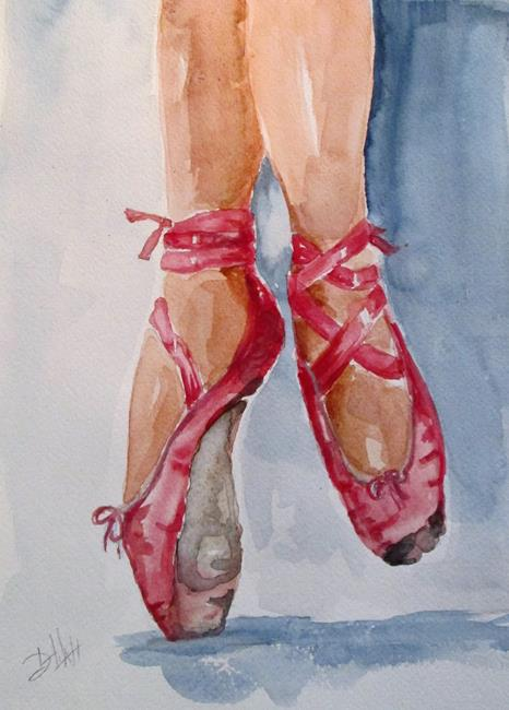 Art: Dance Shoes No.3-sold by Artist Delilah Smith