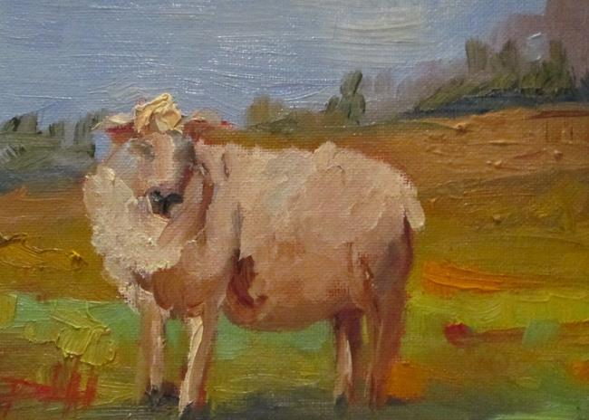 Art: Lamb by Artist Delilah Smith