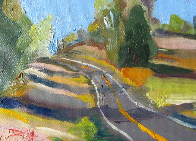 Art: The Lonely Road by Artist Delilah Smith