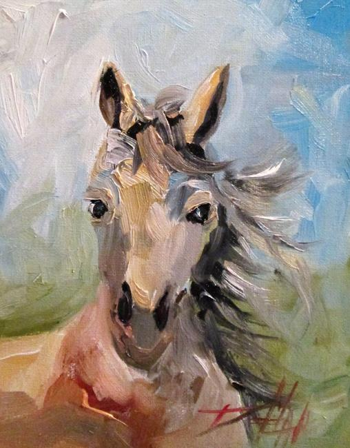 Art: Horse No. 2 by Artist Delilah Smith