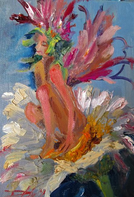 Art: Spring Spirit by Artist Delilah Smith