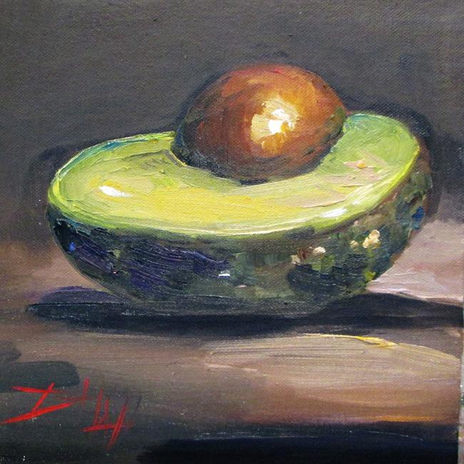 Art: Avocado No. 4 by Artist Delilah Smith
