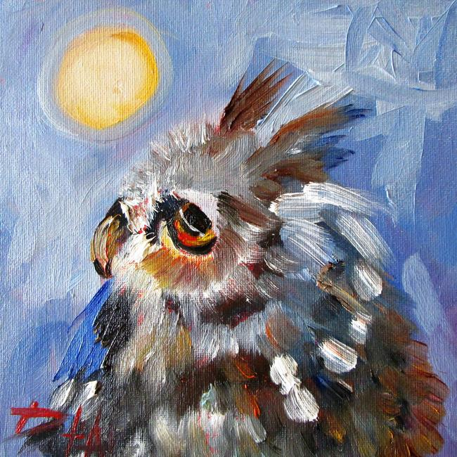 Art: Owl No. 6 by Artist Delilah Smith