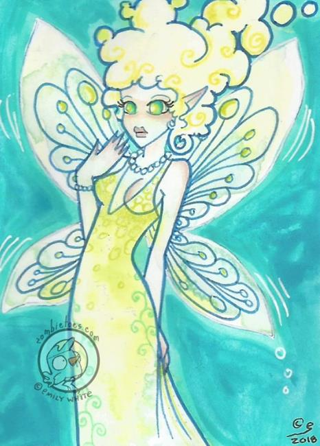 Art: The Glitterbug Ball by Artist Emily J White