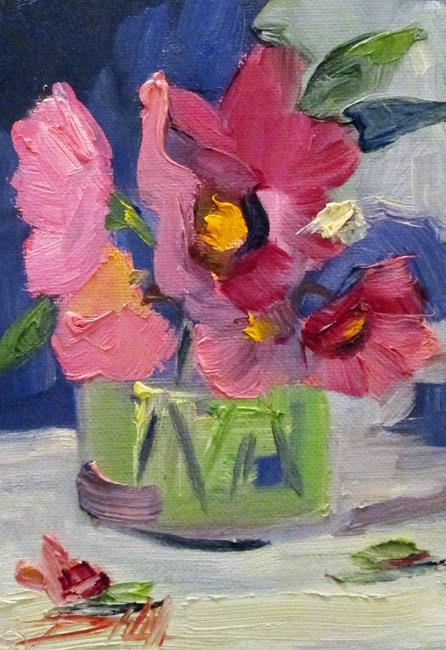 Art: Floral StillLife No. 9 by Artist Delilah Smith