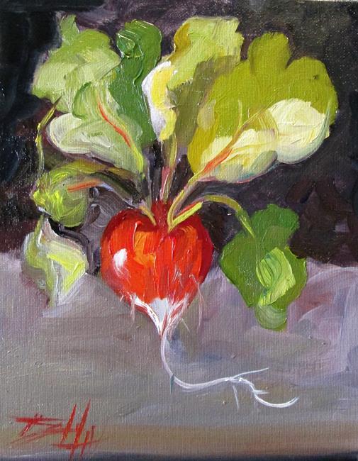 Art: Radish No. 3 by Artist Delilah Smith
