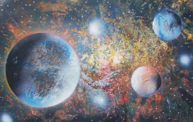 Art: Spraypaing Art by Artist Leonard G. Collins