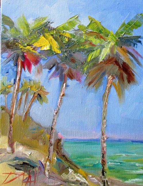 Art: Palm Tree No. 3 by Artist Delilah Smith