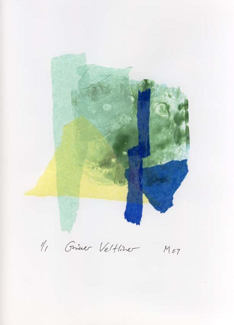 Art: Grüner Veltliner by Artist Gabriele Maurus