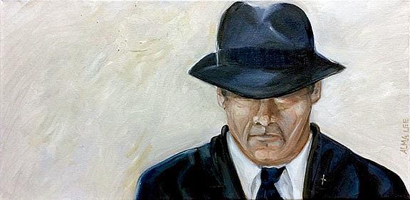 Art: Solitary Man (the life of Joe) by Artist Alma Lee