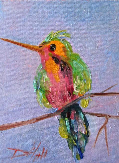 Art: Hummingbird No. 4 by Artist Delilah Smith