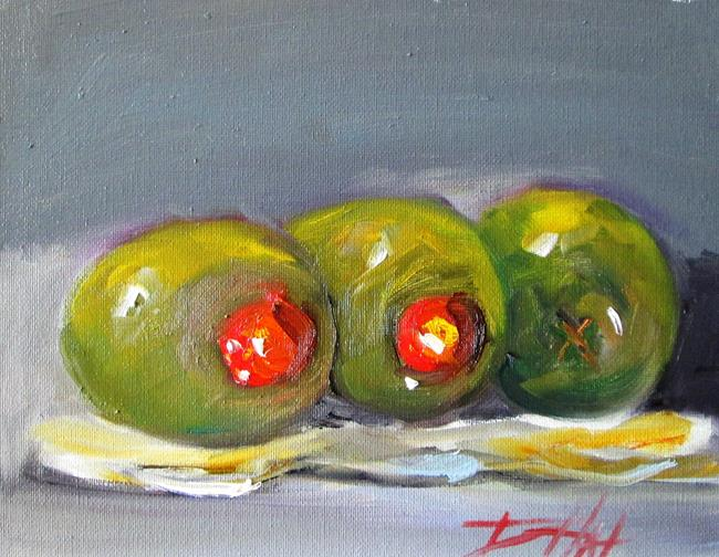 Art: Three Olives by Artist Delilah Smith