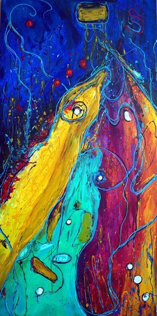 Art: FISH STORY by Artist LUIZA VIZOLI