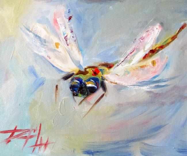 Art: Dragonfly No. 2 by Artist Delilah Smith