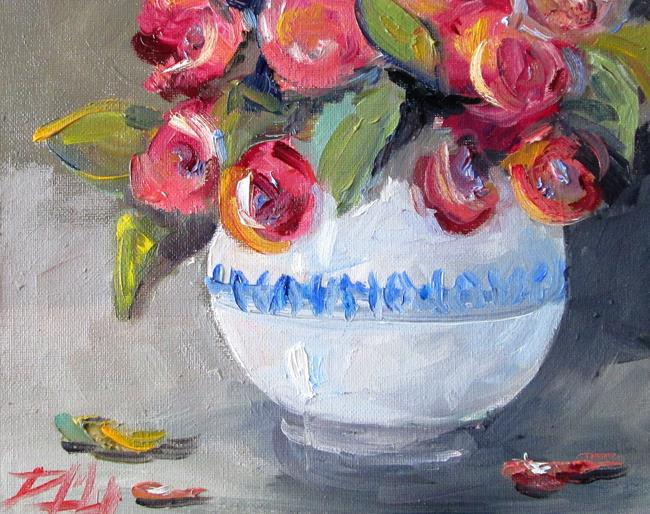 Art: Floral Still Life No 10 by Artist Delilah Smith
